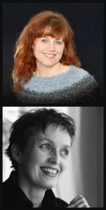 Kristín Helga Gunnarsdóttir og Áslaug Jónsdóttir