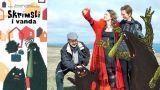 Áslaug Jónsdóttir, Kalle Güettler og Rakel Helmsdal hlutu Íslensku bókmenntaverðlaunin 2017 í flokki barna- og ungmennabóka fyrir bókina Skrímsli ívanda.